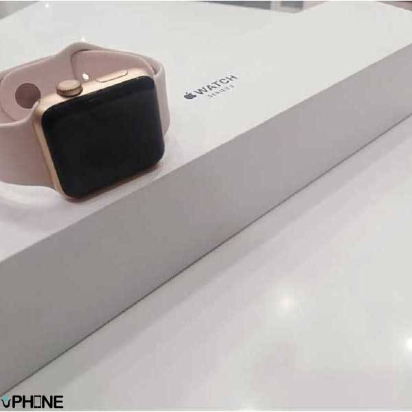 applewatch 3 rosegold